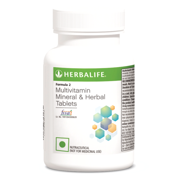 Formula 2 Multivitamin Mineral And Herbal Tablets
