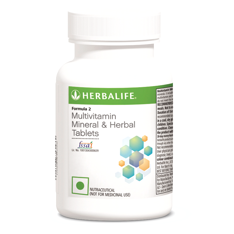 Multivitamin Mineral And Herbal Tablets Formula 2 90